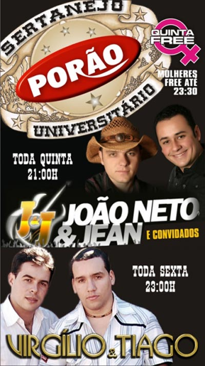 Por�o - Sertanejo Universit�rio