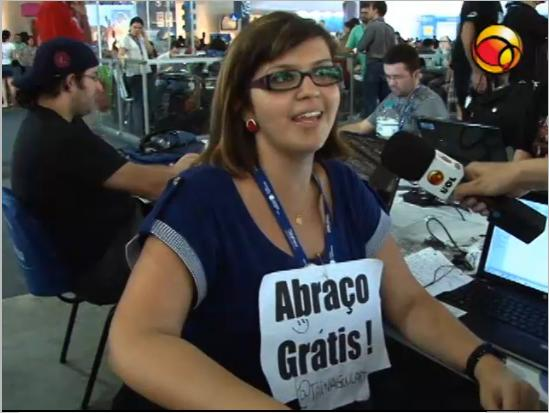 Nerds aplicam cantadas digitais na Campus Party